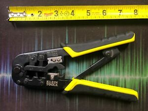Klein Tools Vdv226 011 All in 1 Ratcheting Cable wire Crimper Stripper Cutter