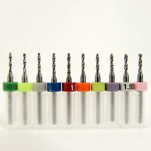 M03 Metric Drill Set Ten Pieces Sizes 1 55mm To 2 00mm