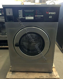 Ipso Iwf040 Washer 40lb Coin 220v 1 3ph Reconditioned