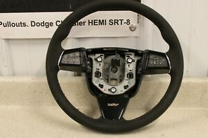 2009 2014 Cadillac Ctsv Cts Steering Wheel Suede Ebony Switches Oem Gm