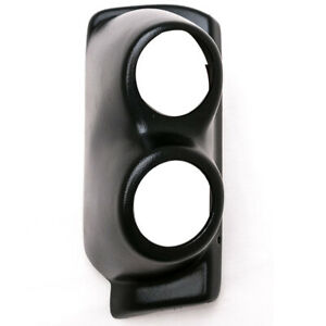 Eag Black Dual Gauge Monitor Pod for 2 gauges For 97 02 Jeep Wrangler Tj