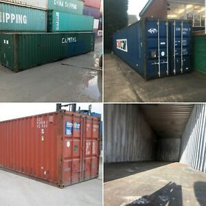 20ft 40ft Used Wind Watertight Shipping Containers chicago From 1400