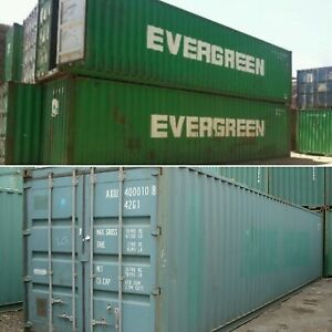 20ft 40ft Used Wind Watertight Shipping Containers detroit From 1400