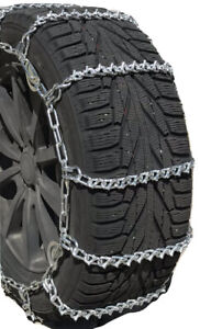 Snow Chains P235 60r17 P235 60 17 V Bar Cam Tire Chains W Rubber Tensioners