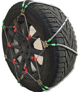 Snow Chains 245 65 17 Diagonal Cable Tire Chains Set Of 2