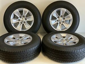 17 Chevy Silverado 2000 202 Gmc Sierra Oem Wheels Rims Tire 5908 255 70 17 Gene