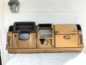 Complete Dash 97 00 Jeep Tj Wrangler Factory Assembly Dashboard Tan