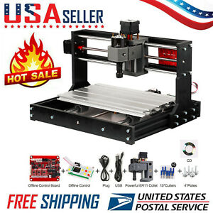 Cnc 3018 Pro Diy Router Mini Engraving Machine Kit Grbl Offline Control E3c6