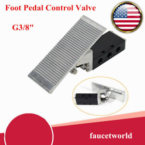 St 403 Foot Pedal Pressure Control Valve 2 Position G3 8 Air Pneumatic Switch