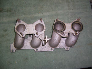 Ford 2 3 Twm 2300 Sohc Intake Manifold Weber Side Draft Dcoe Carburetors