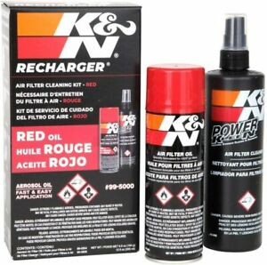 Aerosol Recharger Air Filter Cleaner Degreaser Oil Clogging Cleaning Service Kit