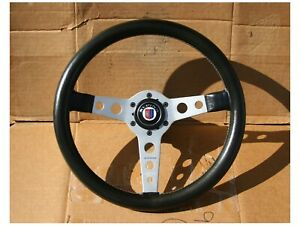 Momo Prototipo With Alpina Horn Button Steering Wheel Solid Cast Hub Bmw 2002