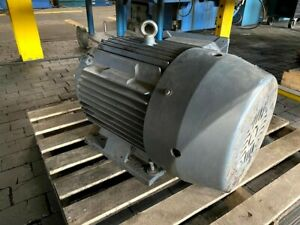 30 Hp 22 Kw 3 Phase Motor And Pump