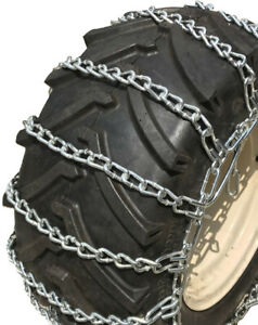 Snow Chains 22 5 X 10 00 X 8 Tire Chains W spring Tensioners