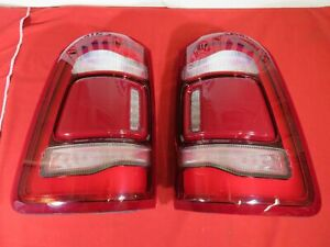 Ram 1500 Led Right Left Tail Light W Blind Spot Cross Path Detection New Mopar