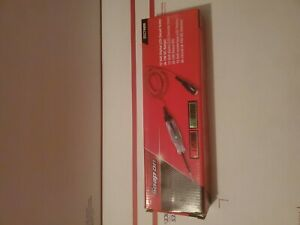 New Snap On Red Digital Lcd Circuit Tester 6 12 Volt Eect400r Brand New