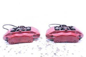 1999 2012 Porsche 911 996 997 Front Brake Calipers Pair Black Brembo Painted