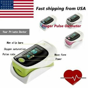 New Health Care Pulse Oximeter Finger Spo2 Monitor Pr Heart Rate Fda ce