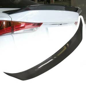 For 2014 2020 Lexus Is200t Is250 Is350 Ar Style Carbon Fiber Trunk Spoiler Wing