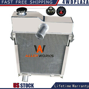 Am639t Radiator For John Deere M Mt 40 320 330 Non pressurized Tractor Am1771t