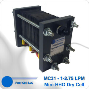 Hho Dry Cell 316l 31 Plates Hydrogen Generator