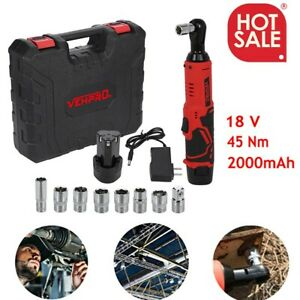 18v 3 8 Drive Cordless Electric Ratchet Impact Wrench Tool