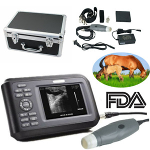 Vet Portable Ultrasound Scanner Machine Kit Handheld Pregnancy Animal Dog cat