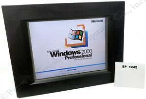 Advantech Ppc 123t Panel Pc 12 1 Tft Color With New Touch Screen stock Sp1242