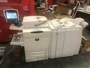 Xerox Docucolor 252 With Light Production Finisher tri Fold And Inserter