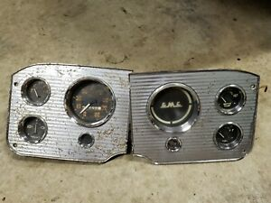 Gmc 55 56 57 58 Gauges Cluster Speedometer Instrument Panel Used As Is Vintage