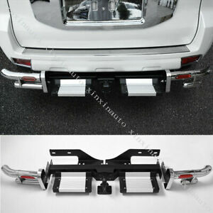 Rear Bumper Pedal Protection Refit For Toyota Land Cruiser Prado Fj150 2010 2020