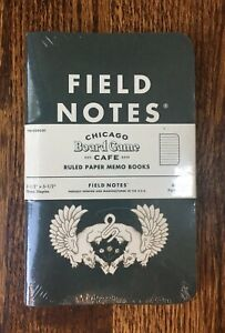 Field Notes Chicago Board Game Edition Sealed 3 Pack Rare