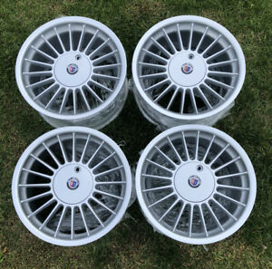 17 Original Rare Bmw Alpina Softline Wheels Set B3 Rims Staggered 5x120 E36