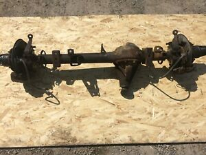 84 85 Toyota Front Solid Axle Oem 4 10 Solid Axle Swap