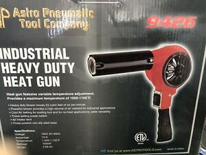 Astro 9426 Industrial 1600 Watt Heavy Duty 120 Volt Heat Gun