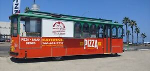 Trolley Mobile Pizza Food Truck
