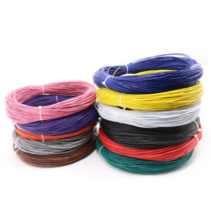 Stranded Ul1007 Cable 80 c 300v Pvc Electric Equipment Wire 16 18 20 22 30awg