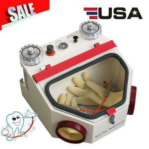 Dental Lab Equipment Twin pen Double Pen Fine Sandblaster Unit Sand Blaster Us