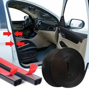 B Shape Self Adhesive Weather Stripping Automotive Rubber Weatherstrip Seal 10m
