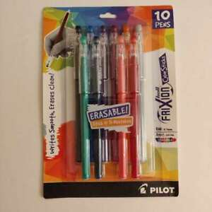 New Pilot Frixion Colorsticks Erasable Gel Ink Pens Fine Point 0 7mm