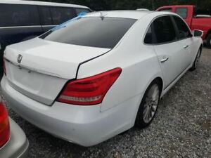 14 16 Hyundai Equus Oem Decklid Trunk Assembly Painted White
