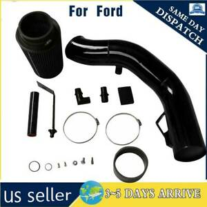 For Ford F 250 350 Excursion 6 0l V8 Diesel 03 07 Black 4 Cold Air Intake Kit