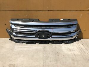 2011 2012 2013 2014 Ford Edge Front Grille Grill Oem Bt43 8a164 Ahw