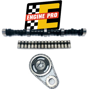 Stage 3 Hp Camshaft Kit W Timing Set For Chevrolet Bbc 427 454 501 501 Lift