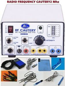 New Electro Surgical Cautery 2 Mhz Surgical With High Frequency Generator Unit