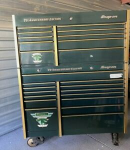 Huge Snap On Snapon Snap on Tool Box Tool Chest 75 Th Aniversary Limited Edition