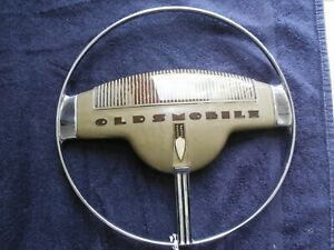 Vintage Oldsmobile Steering Wheel Horn