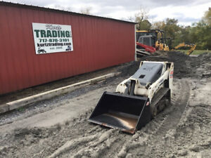 2013 Bobcat Mt55 Stand On Track Skid Steer Loader Kubota Engine Only 900hrs