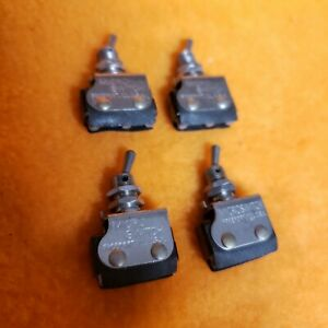 Aircraft Switch 6at2 Micro Military Nos Single Pole 2 Position