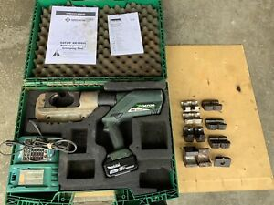 Greenlee Gator Ek1550l 15 ton Battery Powered Crimping Tool 18v Li ion